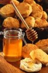 honey and biscuits